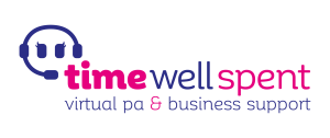 Time Well Spent Logo: Time Well Spent Logo: Virtual PA, Office Support - Chris Heron : Pay as you go PA. Buy packages of time, to use when you need it.