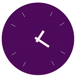 Purple clock Virtual Assistants supporting Small businesses so that they can Grow and succeed
