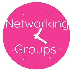 Pink clocks with Neworking groups for small businesses in Devon, Cornwall and Somerset